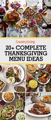 26 thanksgiving menu ideas thanksgiving dinner menu recipes