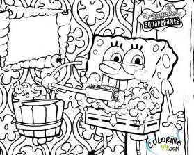 spongebob christmas coloring pages az coloring pages