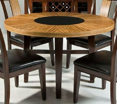 Zebrano Dining Table Armen Living Dining Table Set Zebrano Lcmidirn5 Set Homelement