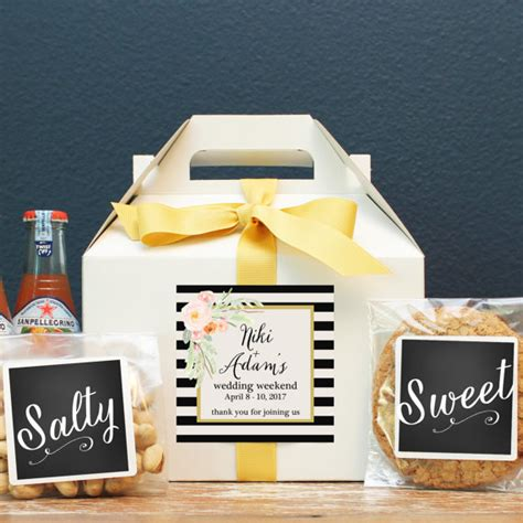 Wedding Welcome Box by Wedding Welcome Box It Started With Yes