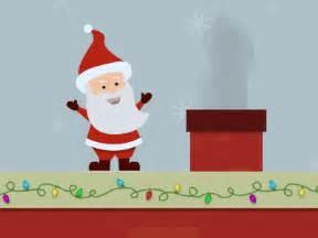 animated waving santa santa waving gif images