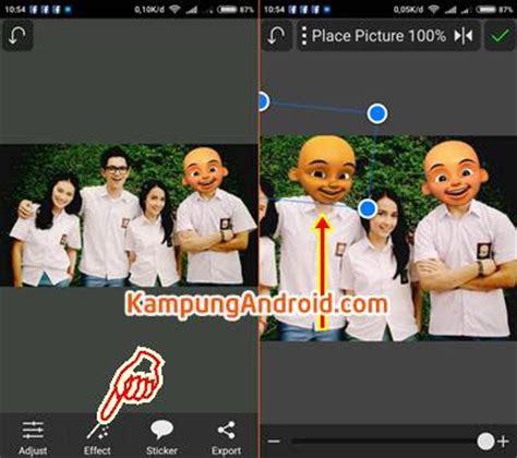 Tutorial Edit Foto Ganti Wajah | aplikasi dan tutorial cara edit foto kepala upin ipin lengkap