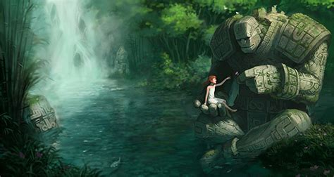 imagenes mitologicas fantasticas robot art stone master and the girl by jason chan