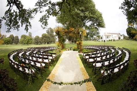 Outdoor Wedding Ceremony Ideas   OneWed