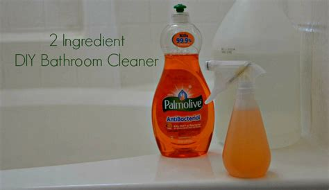 bathroom cleaner ingredients 2 ingredient palmolive bathroom cleaner