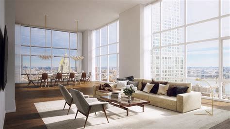 Studio Apartment Kitchen by Luxury Manhattan Penthouse Apartments For Sale The