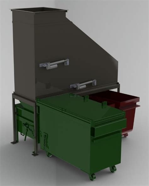 what is a trash compactor hi rise compactor combo for trash and recycling chute systems