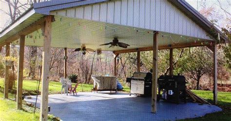 ideas for a covered outdoor shelter area hometalk