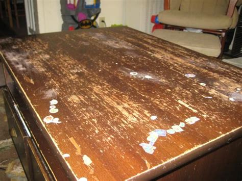 Refinishing Tabletop Of My Coffee Table Doityourself Com How To Refinish A Coffee Table Top