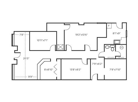 office floor plan law office floor plan sles