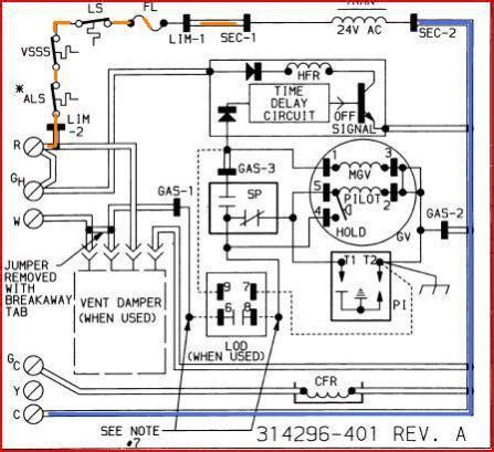 gas furnace board wiring diagram gas free engine