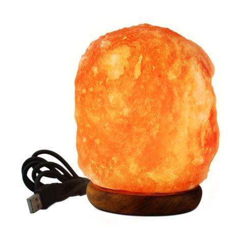 mini himalayan salt l wbm himalayan 3 in led usb himalayan ionic crystal salt