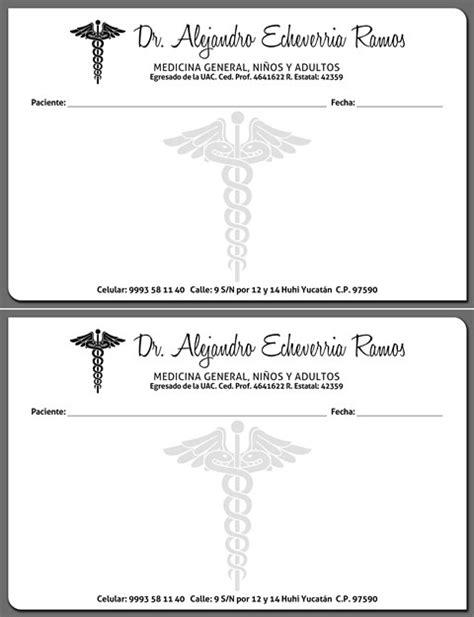 imagenes de recetas medicas en blanco papeler 237 a imagen corporativa