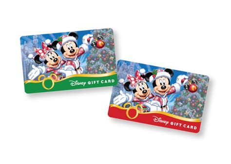 Walt Disney World Gift Card - new holiday disney gift card designs available at walt disney world resort and the