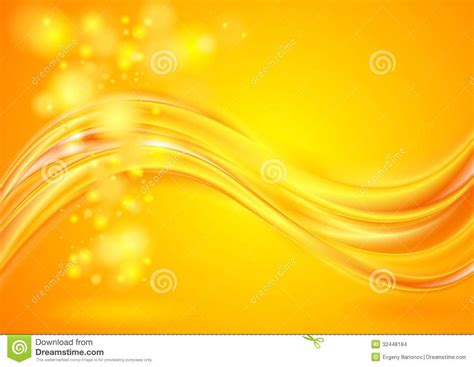background design vector yellow bright yellow wavy background stock vector image 32448184