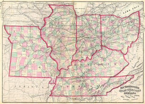 map mo and il file 1873 asher map of the midwest ohio indiana