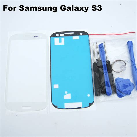 Lcd Samsung Galaxy S3 Gt I9300 Touchscreen White buy black i9300 front outer glass lens replacement samsung