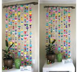 Wall Decoration Ideas For Bedrooms diy hanging garland decorations girls bedroom decor ideas click
