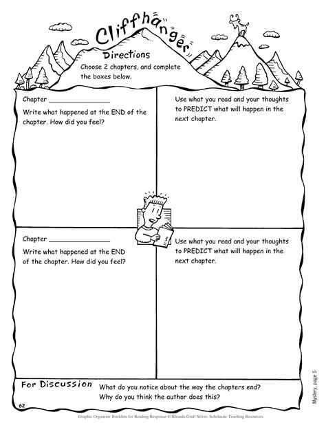 here s a fun graphic organizer to use with older students the