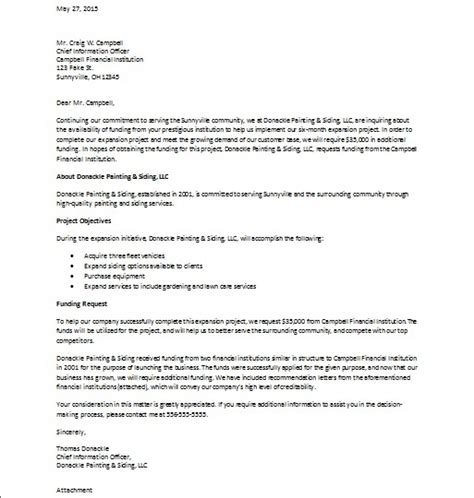 Funding Cover Letter Template Rosemargueritekisses Sle Business Funding Request Package