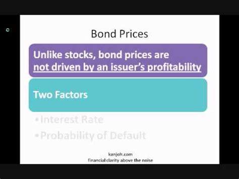 bond pricing   doovi