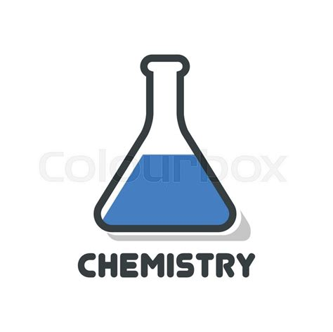 Design Home Plans by Chemistry Logo Vector Illustration Isolated On White