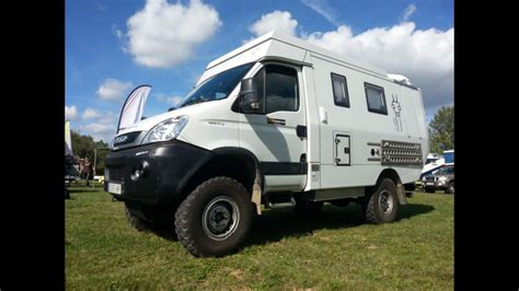 iveco daily  camper offroad expedition youtube