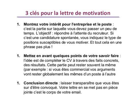 la lettre de motivation est comment 195 169 crire une lettre de motivation pour un emploi