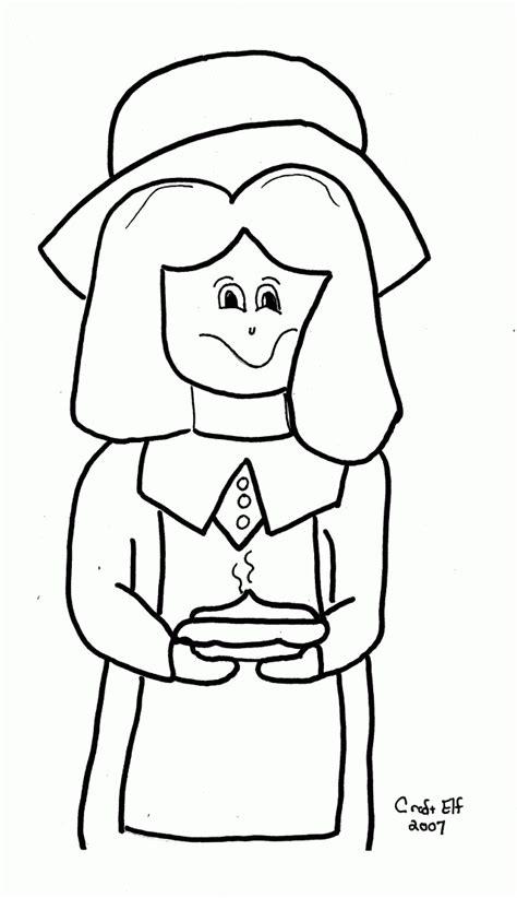 little girl pilgrim coloring page pilgrim girl coloring page coloring home
