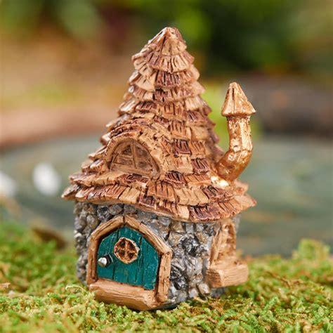troll doll house micro mini shingletown troll house fairy garden