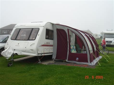 Sunnc 390 Awning by Sunnc 390 Ultima Lightweight Caravan Porch Awning For