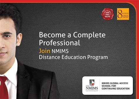 Nmims Distance Learning Mba Fees by Nmims Global Access School For Continuing Education