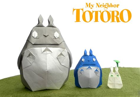 Origami Totoro - this week in origami black friday edition