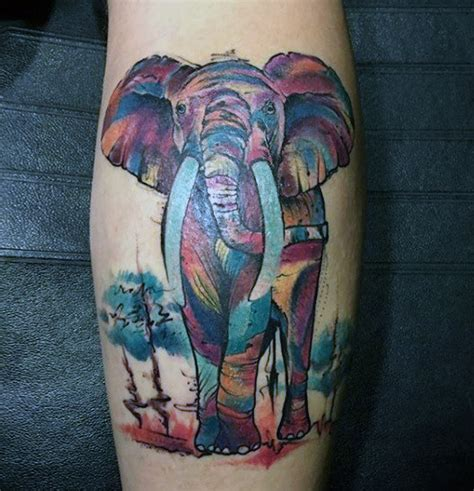 100 elephant tattoo designs for men think big