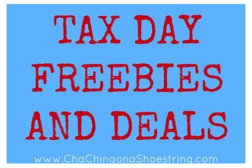 louisville tax day freebies