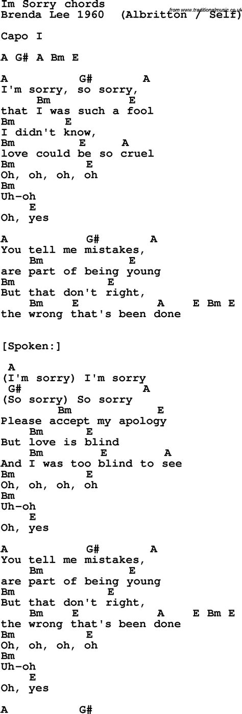 Guitar Chords For Apologize