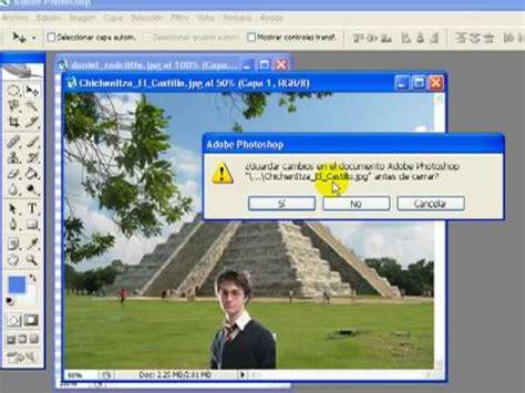 hacer imagenes vectoriales photoshop como hacer fotomontajes con photoshop youtube