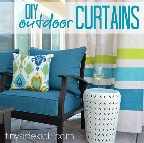 how to make outdoor curtains diy outdoor curtains tutorial how to make outdoor
