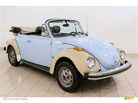 volkswagen light blue light blue 1979 volkswagen beetle convertible exterior
