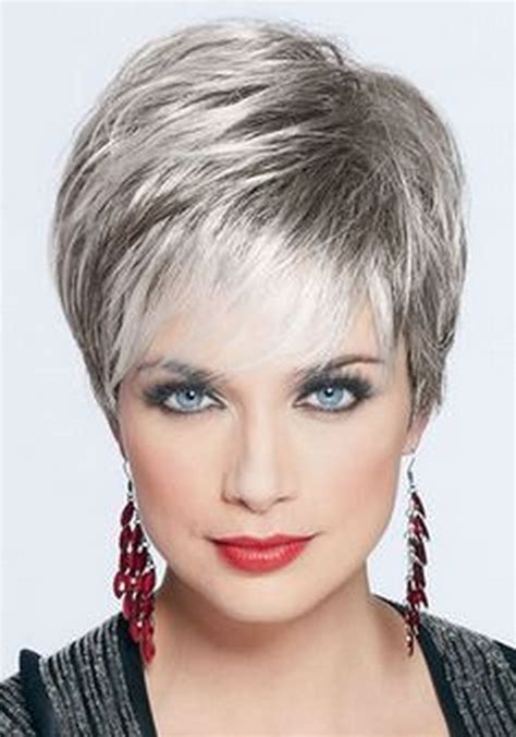short hairstyles  grey hair