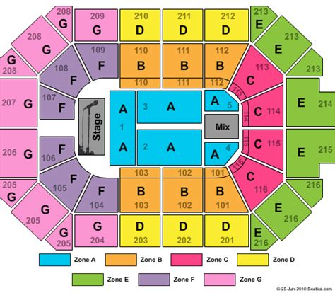 allstate arena chicago seating chart where is a better place to sit stand at the allstate arena