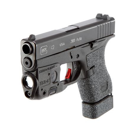 glock 17 laser light streamlight tlr 6 light laser glock 42 43 black