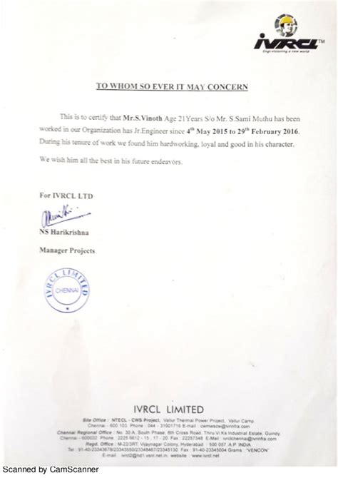 Work Experience Letter Cook 100 Experience Certificate 1 638 Jpg Experience Certificate Cv Faisal Riza Detail Working