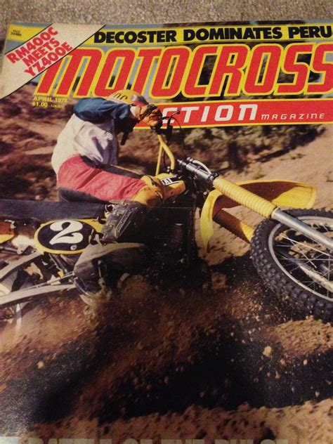 bicycle motocross action magazine looking to buy dirt bike magazine april 1978 and motocross