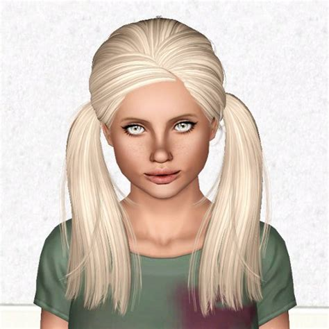 sims 3 pigtails with bangs sims 3 pigtails hair hairstyle gallery