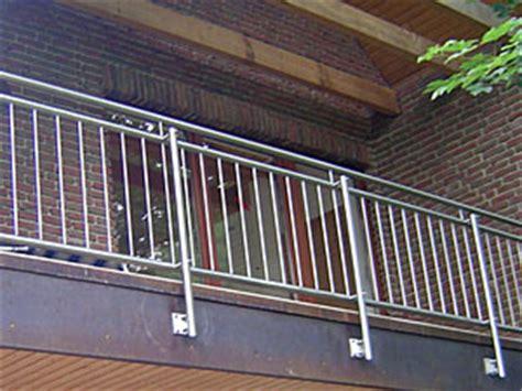 edelstahlgeländer selbstbausatz balkongel 228 nder metall selber bauen schwimmbadtechnik