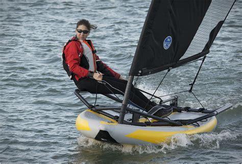zeilboot opblaasbaar tiwal inflatable sailing dinghy