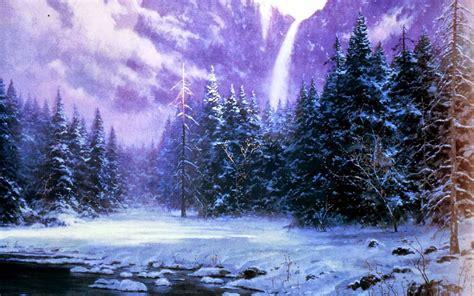 imagenes de paisajes con nieve imagenes hilandy fondo de pantalla paisaje bosque de nieve