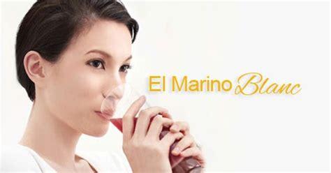 El Marino Collagen Drink great n healthier with elken el marino blanc