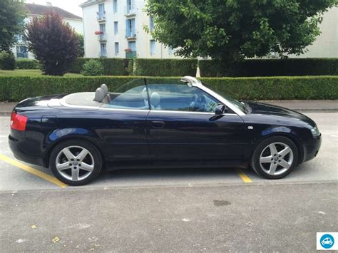 Audi 2 5 Tdi by Achat Audi A4 2 5 Tdi Cabriolet V6 2002 D Occasion Pas